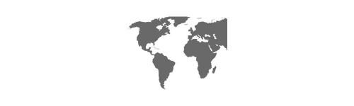 Mapy świata i kontynentów
